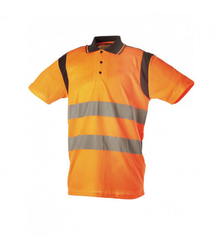 polo-manche-courte-orange-singer-safety