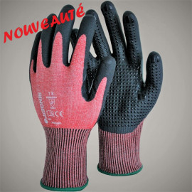 Gants anti-coupures nitrile SINGER SAFETY PHD5RED