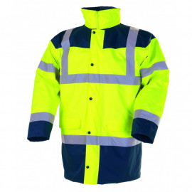 Parka fluo jaune ou orange 4 en 1 SINGER SAFETY PIAMA/PIAMO