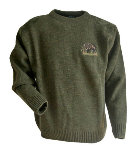 pull-maille-plate-lma-chasse