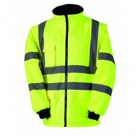 Blouson Jaune ou Orange Fluo 2 en 1 Singer Safety VEROME/VEROMO