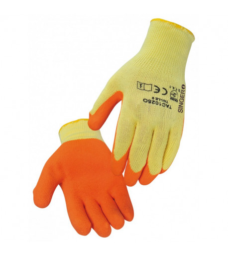 Gants de protection latex - SINGER SAFETY TAC1025O