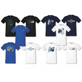 Collection de t-shirts Sparco Teamwork - 20 designs et coloris au choix