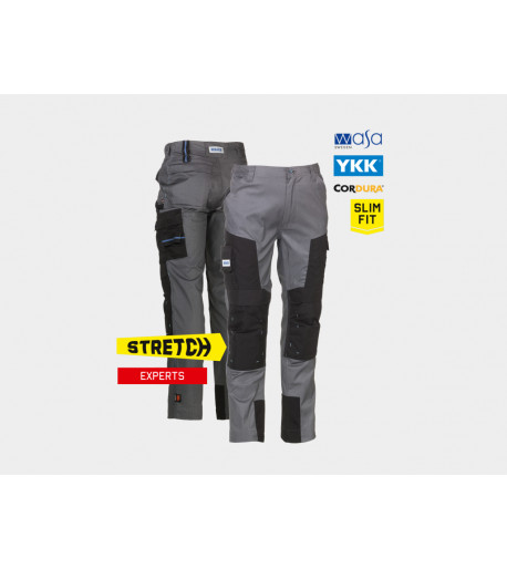 Pantalon multipoches stretch Herock CAPUA