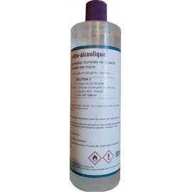 Solution hydroalcoolique en flacon de 0.5 litre SOLHYDRO0.5