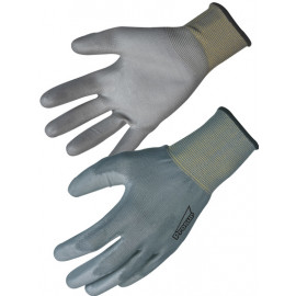 Gants en PU avec support polyester Singer Safety NYM713PUG