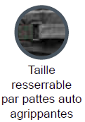 Taille resserrable LMA