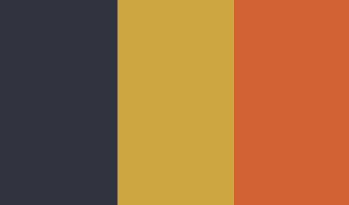 Bleu / Jaune / Orange